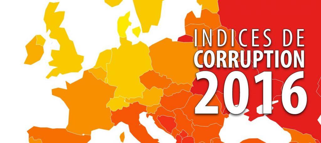 Corruption 2016 : le classement des pays